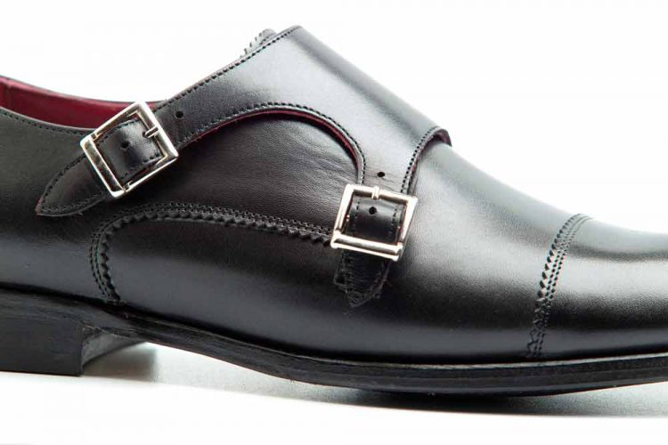 June zapato Monk negro para mujer Beatnik Shoes