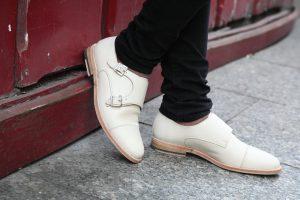 zapato monkstrap mujer