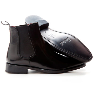 Black Chelsea Boots for men Cassady by Beatnik Shoes