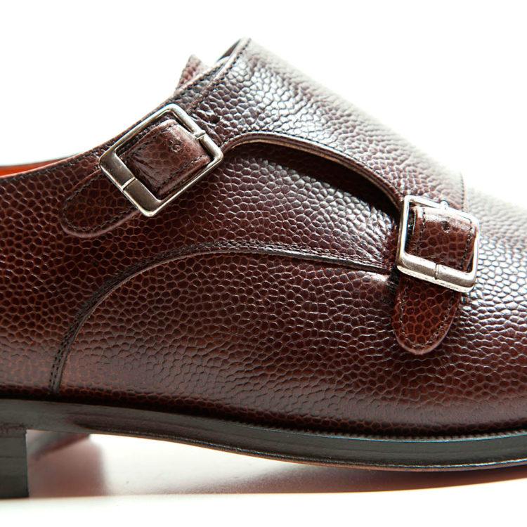 zapato monk doble hebilla hombre Lamantia por Beatnik Shoes