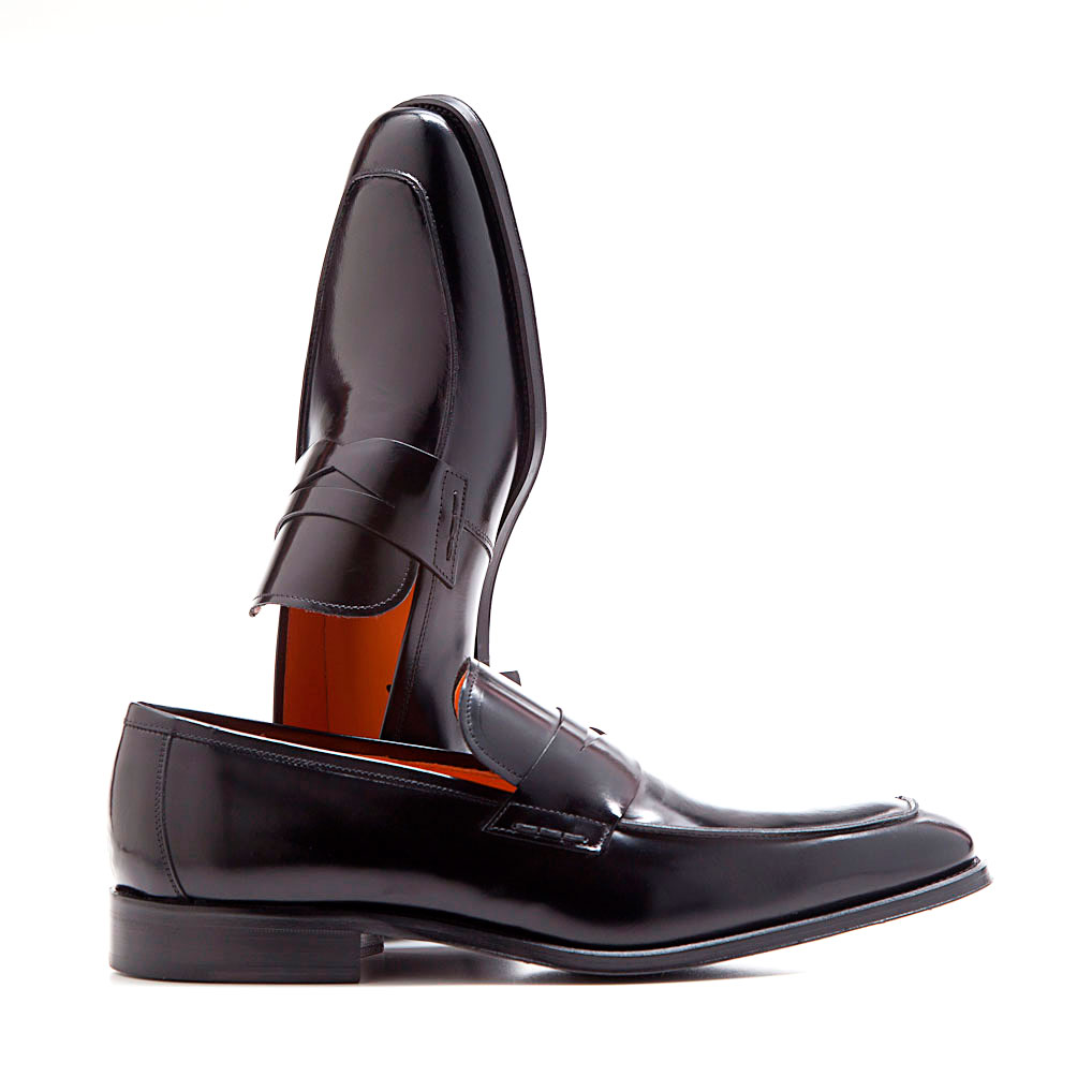 Classic black formal dress shoes for men Everson. Handmade in Spain by Beatnik Shoes