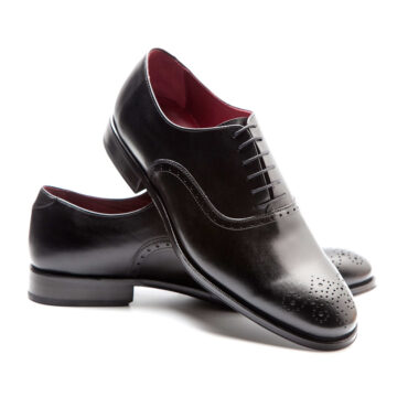 Black Oxford shoes legate formal style for men Kaufman by Beatnik Shoes