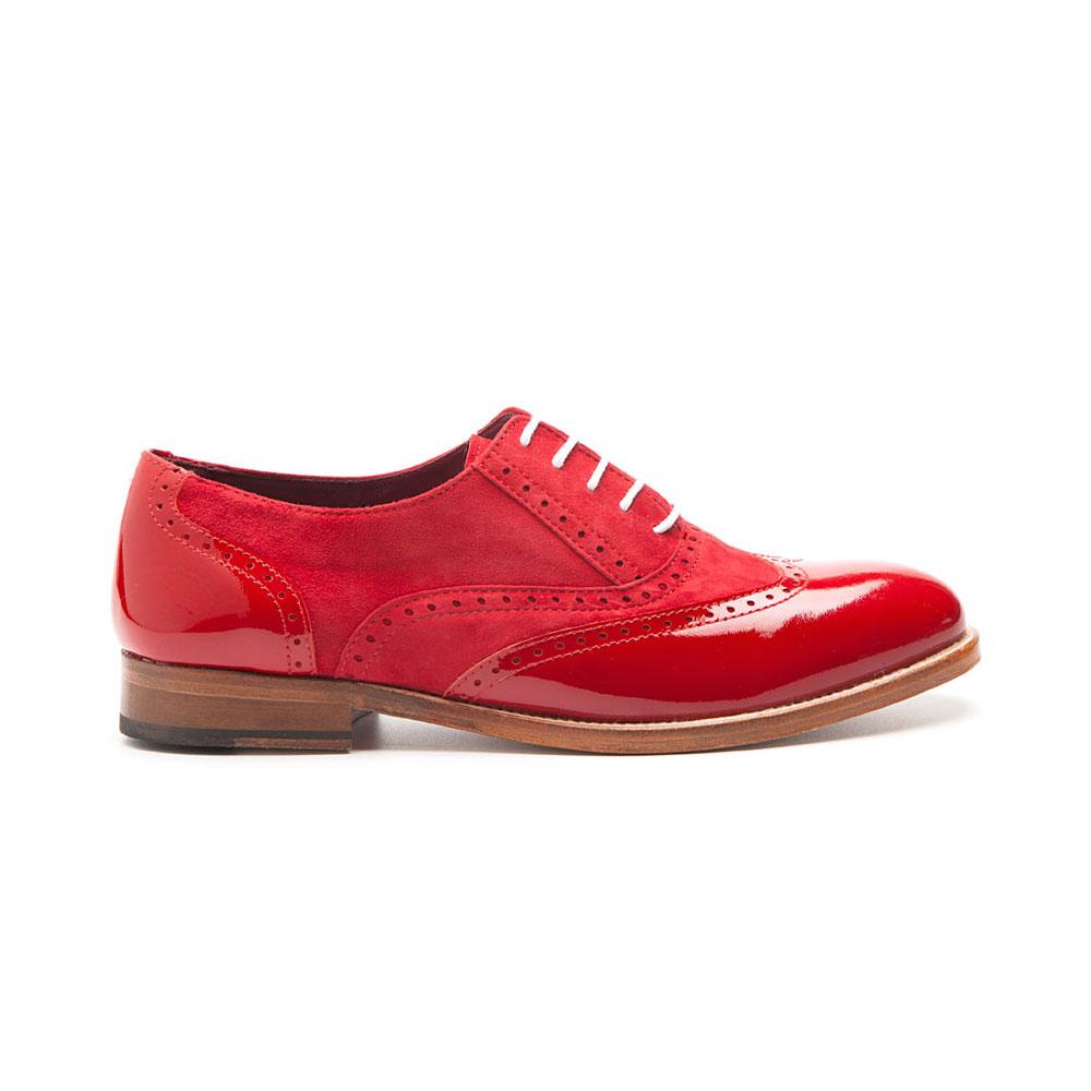 0311aa41 Lena Too red zapato estilo Oxford para mujer por Beatnik shoes. Lena Too  red zapato estilo Oxford para mujer por Beatnik shoes