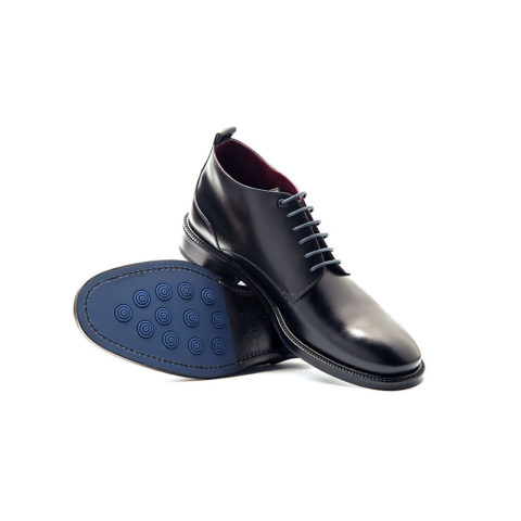 Botines negros masculinos Dylan por Beatnik Shoes