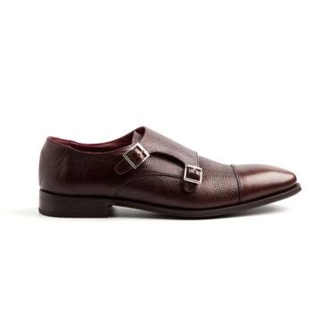 Zapato monk marrón para hombre por Beatnik Shoes