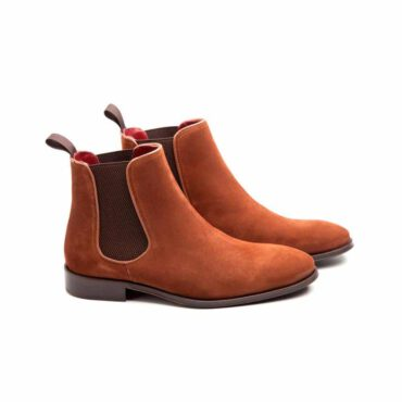 Suede Chelsea boots for men Cassady Mel by Beatnik Shoes