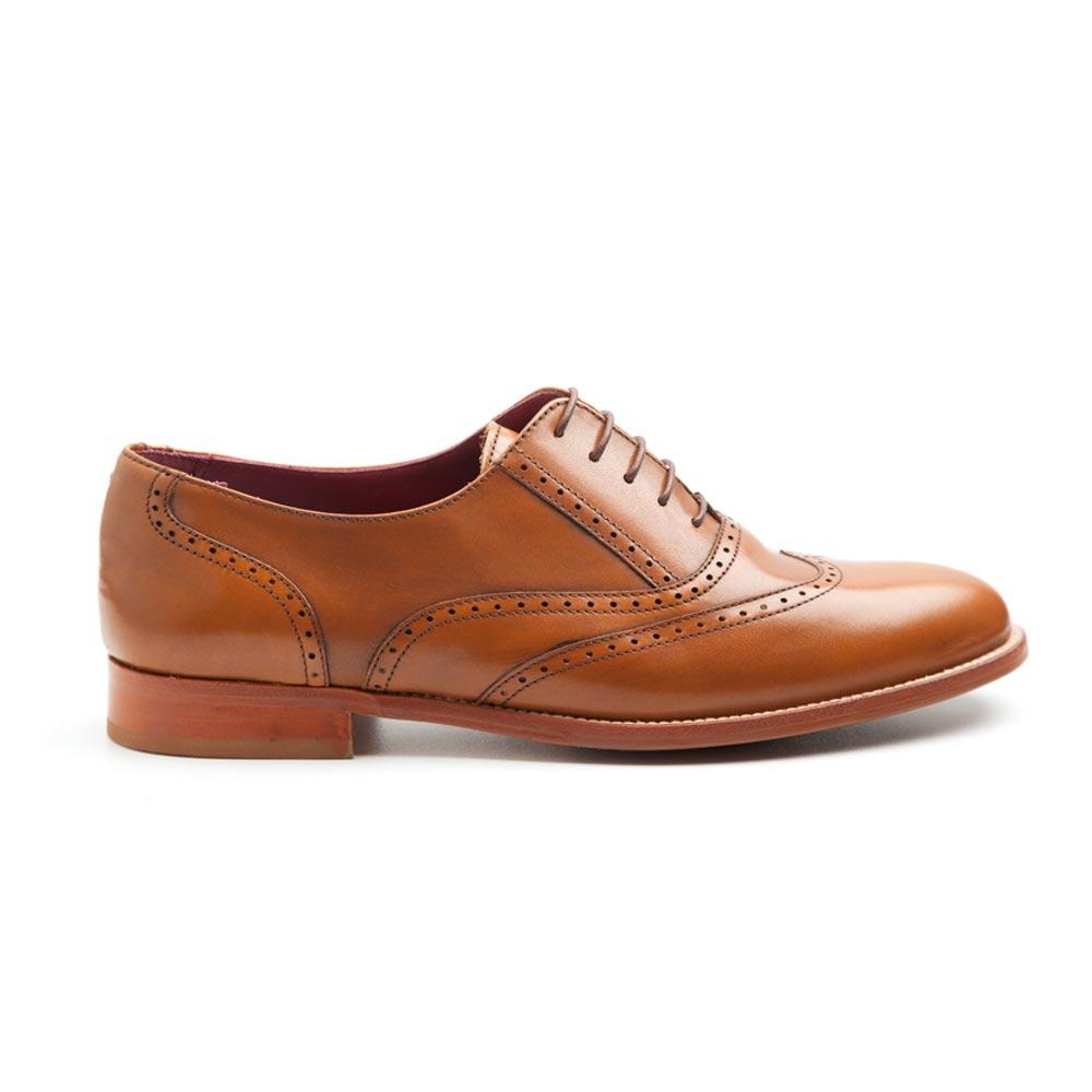 Zapato De Mujer Oxford Lena Marrón rA07P