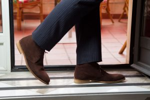 Botas del desierto marrones Kenneth Brown hechas a mano en España por Beatnik Shoes