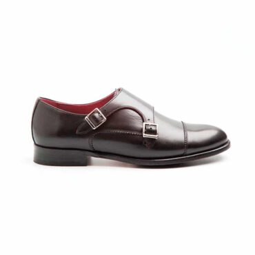 June Monk strap negro para mujer por Beatnik Shoes