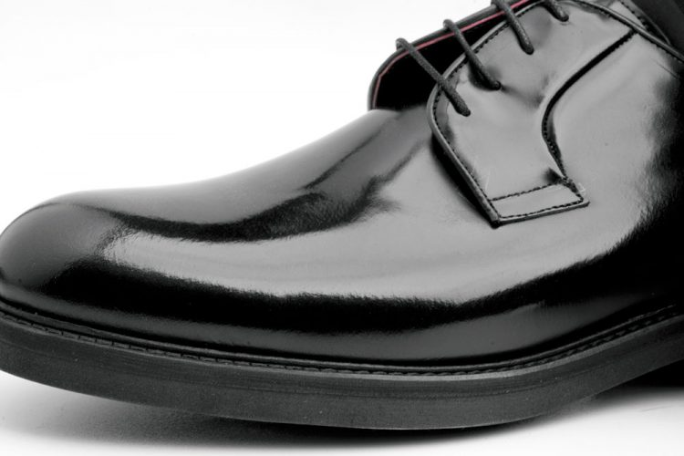 Black Derby Shoes for men Beatnik Jack Noir