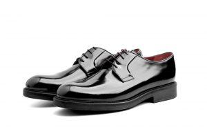 Zapatos Blucher negros de hombre Jack Noir