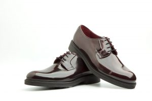 Red Derby Shoes for men Beatnik Jack Red