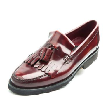Red Tassel Loafer Henry by Beatnik Shoes