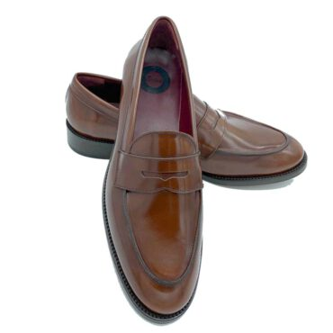 Penny Loafers Marrones Beatnik Irma Chesnut