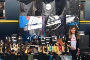 Zapatos en el Mercado de Motores de Madrid