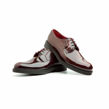 Oxford Style Shoes for men Handmade in Spain Beatnik Jack Red