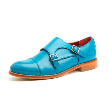 Blue MonkStrap Shoes for women Beatnik June Blue
