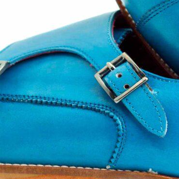 Blue MonkStrap Shoes for women Beatnik June Blue