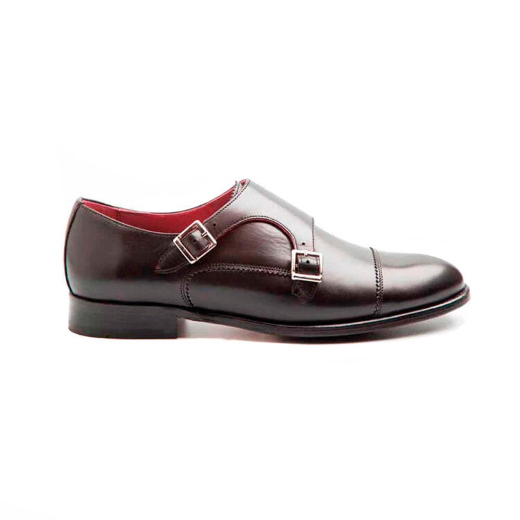 Black Monk Strap Shoes for women Beatnik June Black