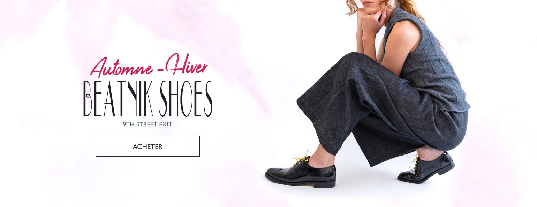Automne-Hiver Beatnik Shoes